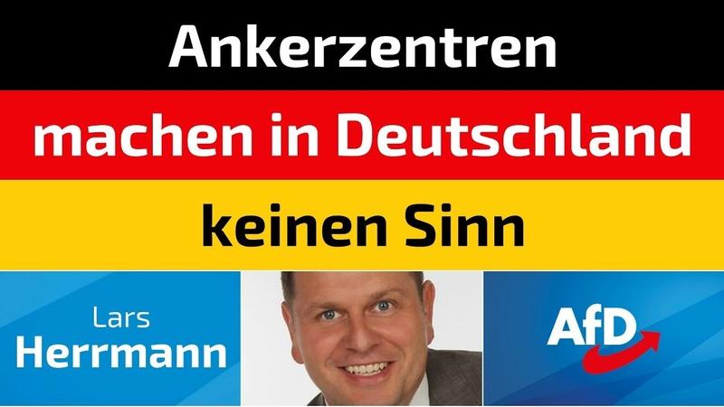 Lars Herrmann (AfD) - Ankerzentren machen in Deutschland keinen Sinn