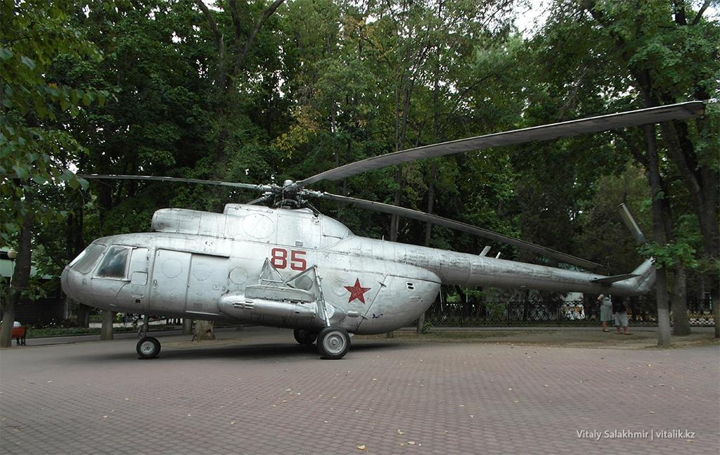 Вертолет в Фемили парке Алматы 2018