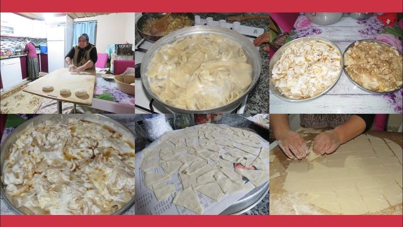 Su böreği, haluşka, hengel nasıl yapılır Kastamonu yemekleri