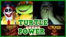 Creepy The Clown | TURTLE POWER - Omegle Scare