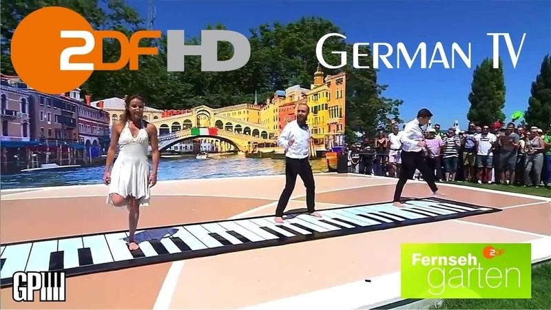 IlGrandePiano al Fernsehgarten su ZDF TV, Live performance 8 July 2018