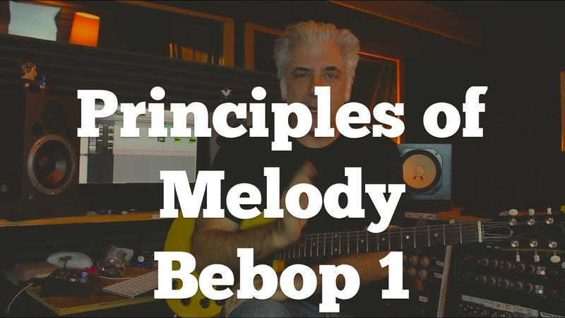 Music Theory | Principles of Melody - Bebop Lines