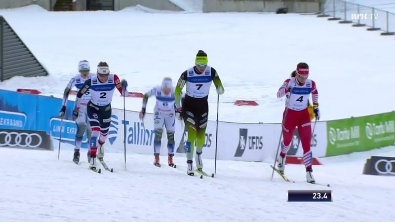 Womens Sprint [C] - Final - Otepää 2019