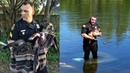 Police Rescue Stuck Animals. Cool Cops Ever.