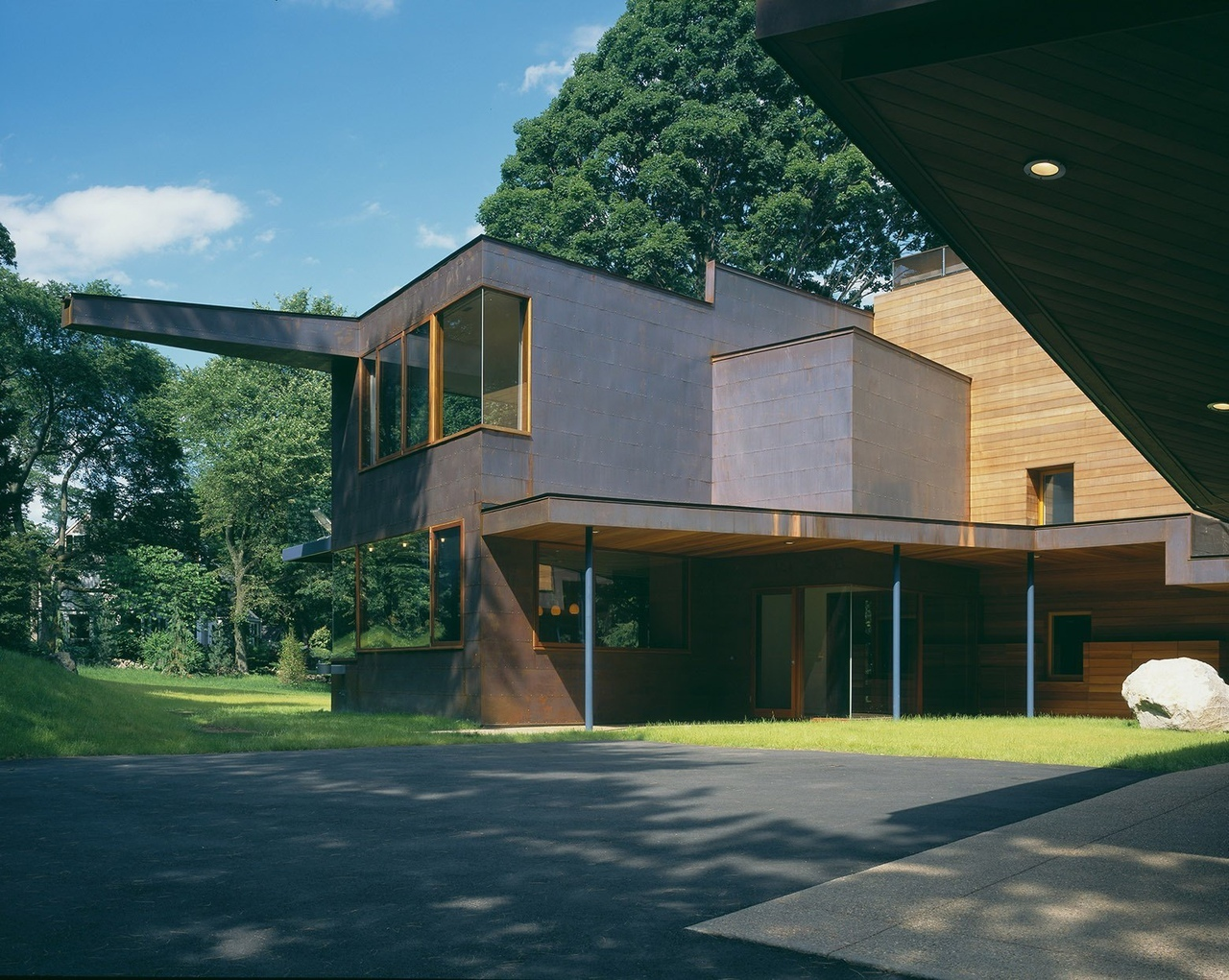 Copper House / Charles Rose Architects