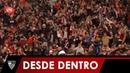SS Lazio 0 - Sevilla FC 1 nuestra victoria en Roma desde dentro