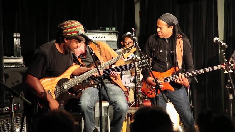 Wimbish Jam Berklee Bass Summit II ft Wimbish Gwizdala Willis Wooten Patitucci Bailey