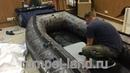 Надувная лодка из ПВХ Полар Берд 340 М Мерлин/Кречет стеклокомпозит. Цвет камуфляж