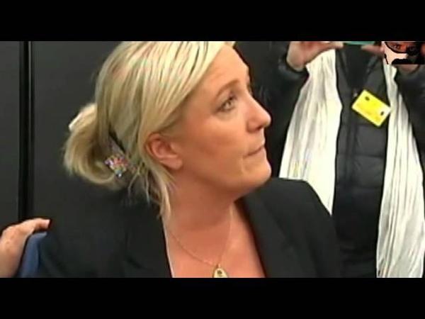 Nel frattempo : Strasburgo Matteo Salvini e Marine Le Pen 15/04/2014
