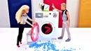 Мультик Барби - Кен готовит сюрприз. Играем в куклы