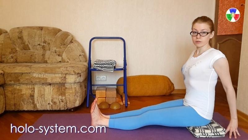 Йога Айенгара. Упражнения для стоп