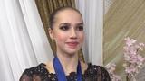 Interview after Free, Alina Zagitova World Championships 2019 2 22