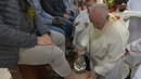 Holy Mass on Holy Thursday with Pope Francis from Velletri Prison 18 April 2019 HD