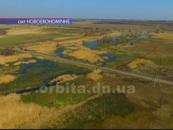 Экологическое бедствие в смт.Новоекономичне. От канализационных стоков погибают домашние птицы