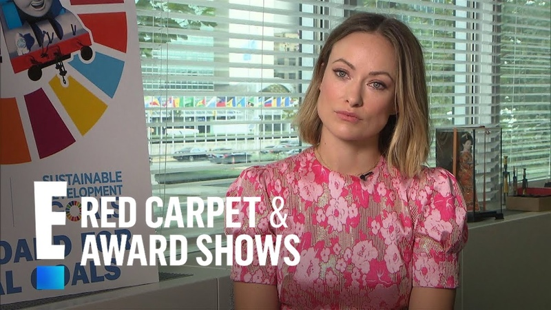 Olivia Wilde Gives an Update on Kids Otis Daisy | E! Red Carpet Award Shows