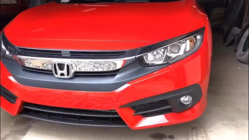 Восстановление авто Honda после аварии