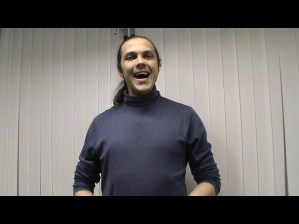 Уроки вокала. Упражнение для укрепления диафрагмы. (мажорное трезвучие, стаккато)