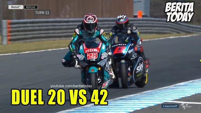 Cuplikan Seru Moto2 Motegi Jepang 2018