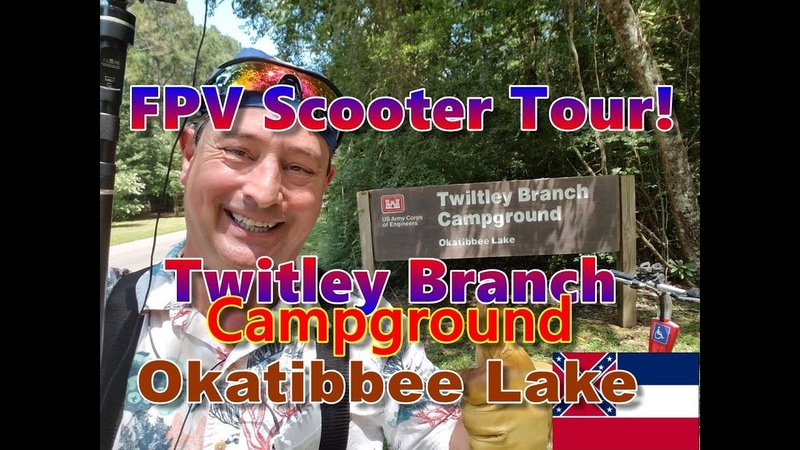 Twiltley Branch Campground, Lake Okatibbee COE [Official FPV Tour]