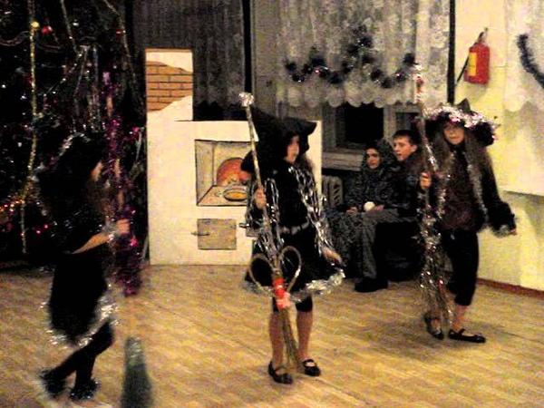 танец ведьм.