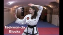 Taekwon-do Blocks | Basic Blocking Techniques with Hands Forearms 🥋👊🏻