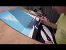 Painting a Gradient on my Cormorant Painting