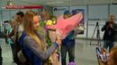 Українська дзюдоїстка Дарина Білодід повернулася на батьківщину