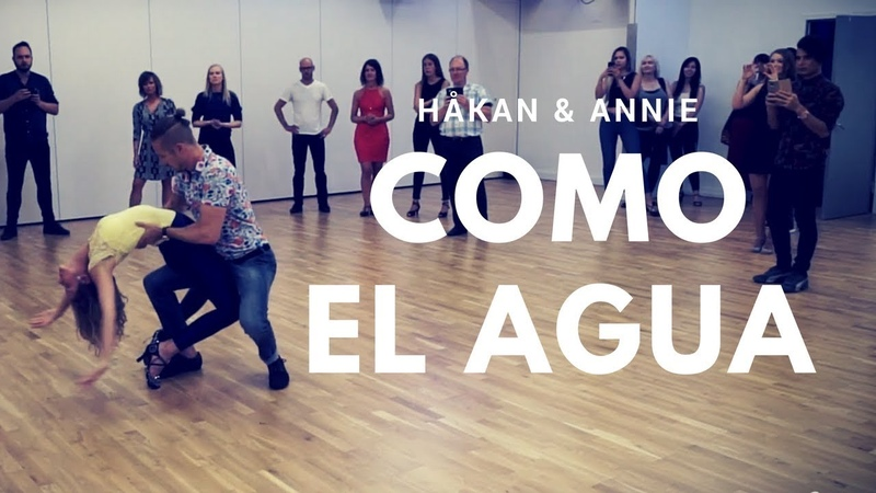 Rotem cohen - Como El Agua ft. Descemer Bueno  Bachata Sensual by Håkan Annie