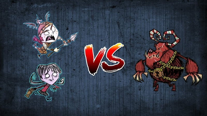 Don't Starve Together 4 (Beavis corp VS Claus)
