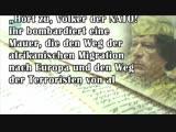 7. Todestag am 20.10.2018 Politisches Testament Muammar al-Gaddafis