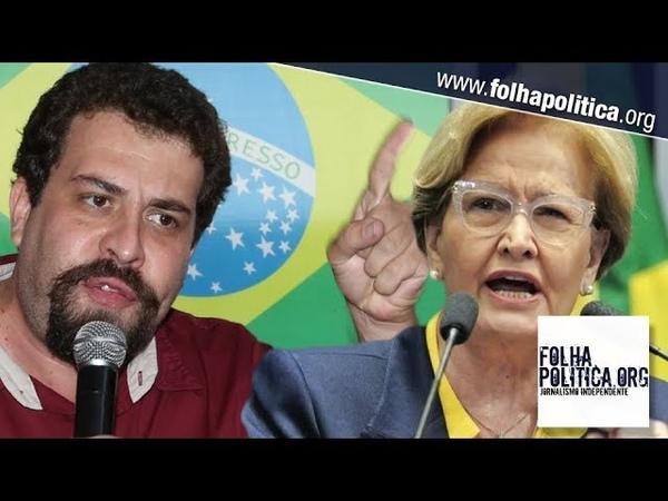 Guilherme Boulos incita manifestações contra Bolsonaro e recebe recado de Ana Amélia