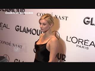 Лили Рейнхарт на мероприятии «Glamour's 28th annual Women of the Year Awards» (12.11.2018)