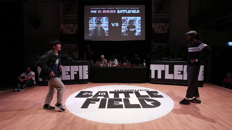 Battlefield 2018 | Popping quarter final | Volt vs Shawn