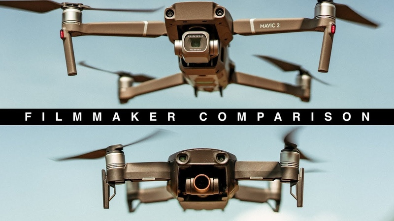 DJI MAVIC 2 PRO VS DJI MAVIC AIR | Complete filmmaker COMPARISON | H.265 10bit Footage