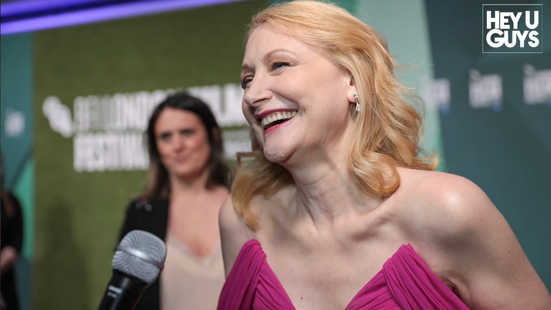 Patricia Clarkson on Sharp Objects and leading Carol Morleys Out of Blue - LFF Premiere