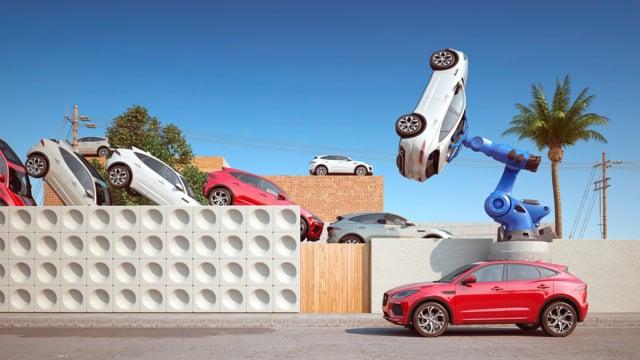 Jaguar E-pace Transposition