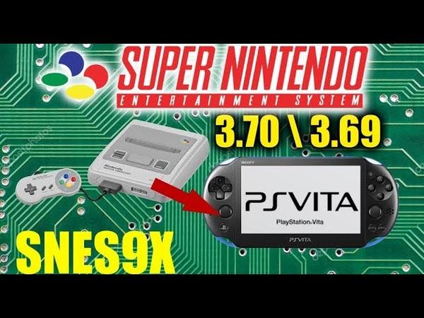 Настраиваем PSP SNES9X эмулятор SNES [Ps vita VHBL 3.70 \ 3.69] emulator GameandGeek HD