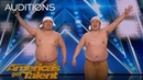 Yumbo Dump Comedic Duo Makes Unbelievable Sounds With Their Bodies America's Got Talent 2018