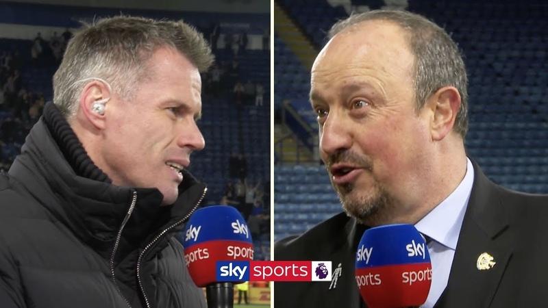 Jamie Carragher grills Rafael Benitez on his Newcastle United future Friday Night Football