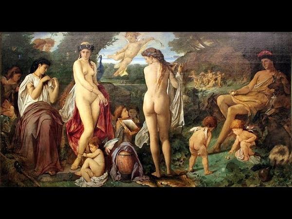 Anselm Feuerbach (1829 - 1880) German painter ✽ Clair de Lune / David Garett
