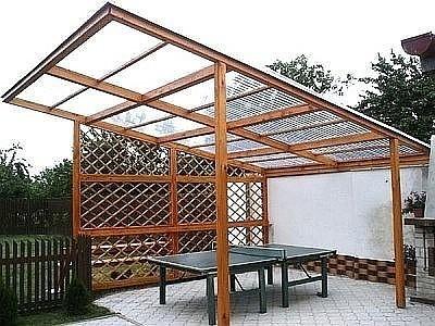 Поликарбонатная крыша