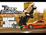 Dominic vs. Brian | The Fast and The Furious in GTA 5 2019