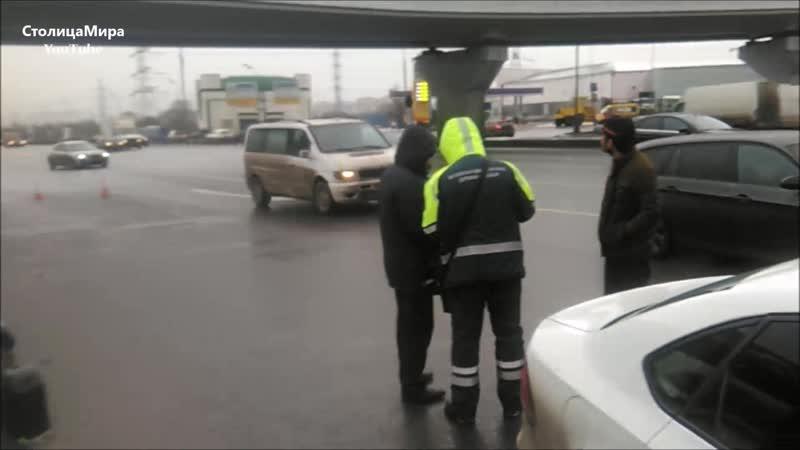 Рейд против незаконной эвакуации автомобилей в Москве.