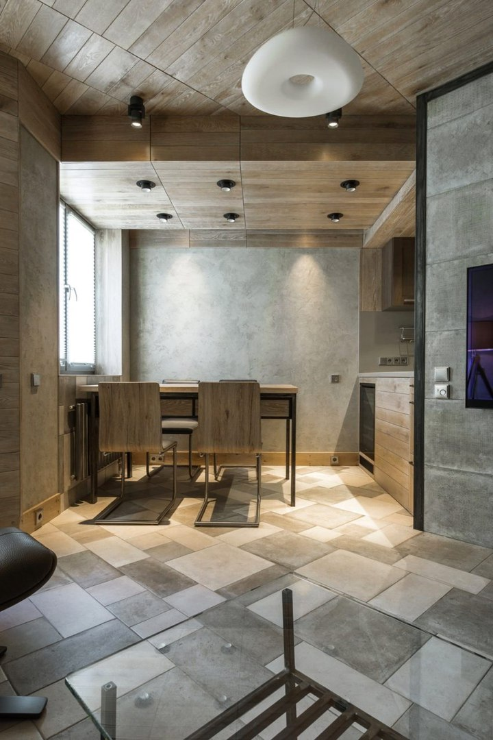 Дизайн квартиры в Москве площадью 131 кв.