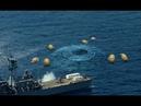 200 ярких объектов вылетели из воды,и мгновенно набрали неземную скорость.НЛО.Подводные пришельцы