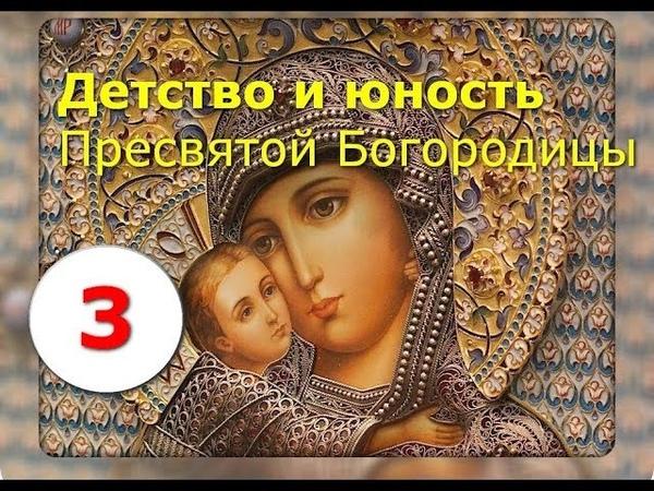 Детство и юность Пресвятой Богородицы Часть 3