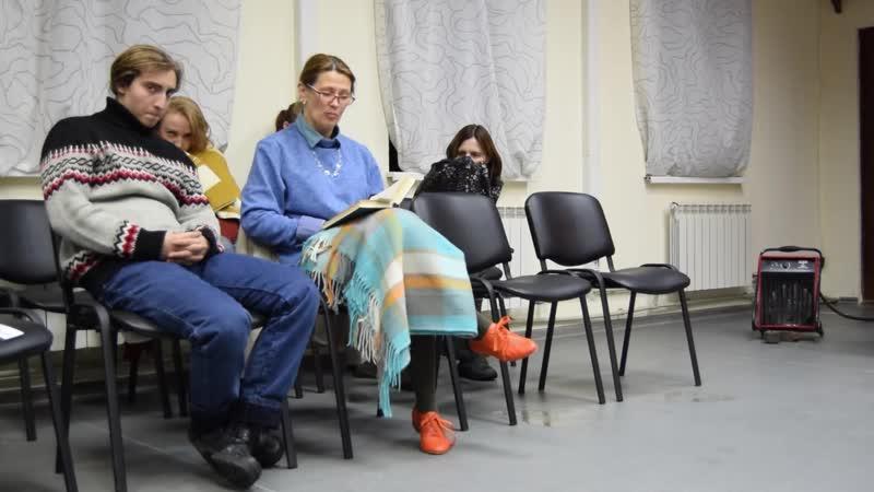 Марина Наумова читает Дуэль Чехова