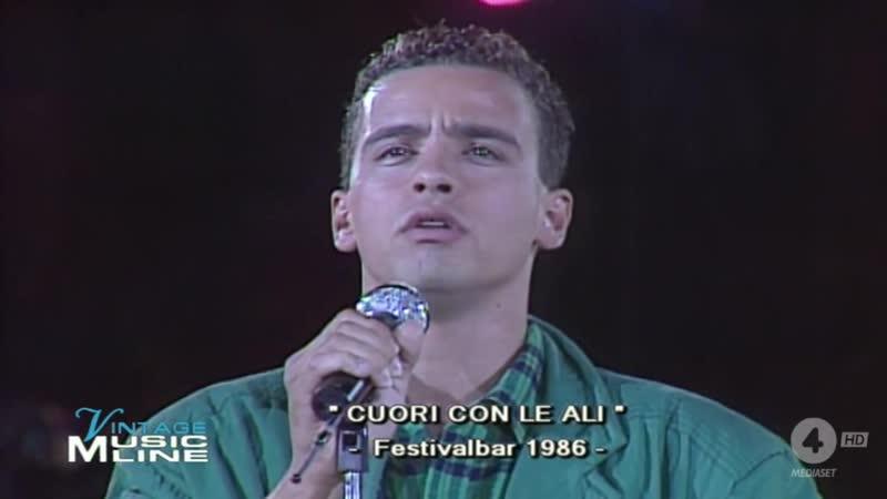 Eros Ramazzotti Un cuore con le ali Festivalbar 1986