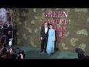 Колин и Ливия на зелёной дорожке Green Carpet Fashion Awards в Милане