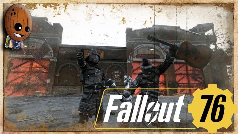 Fallout 76 Прохождение 22➤В огонь Отрыжка Бетти Пожарная часть Чарлстона Бег для медосмотра